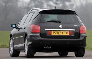Peugeot 407 - wersja SW miała przeważnie lepsze wyposażenie niż sedany