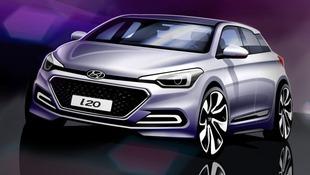 Pierwsze szkice Hyundaia i20