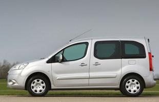 Peugeot Partner Tepee. Wersja sprzed faceliftingu