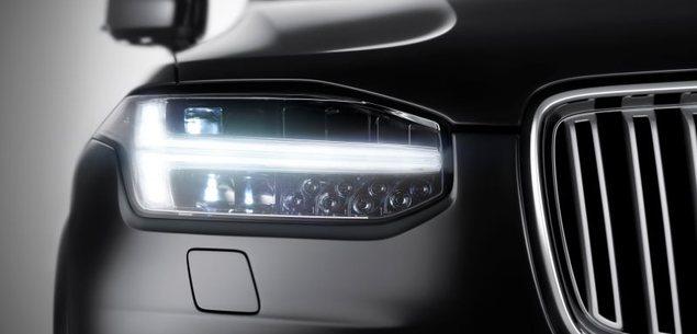 Pierwsze zdjęcie nadwozia nowego Volvo XC90