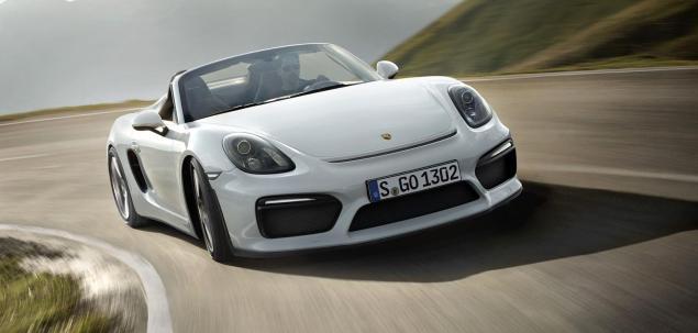 Porsche Boxster Spyder oficjalnie