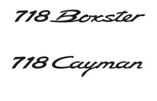Porsche 718 Boxster i Porsche 718 Cayman