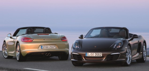 Porsche Boxter i Cayman z nową nazwą