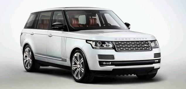 Range Rover LWB. Angielska S-klasse