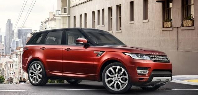 Range Rover Sport wyceniony