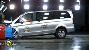 Testy Euro NCAP: Citroen C4 Cactus, Nissan X-Trail i Mercedes V