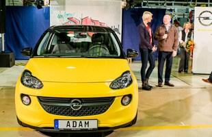 Pierwszy seryjny Opel Adam