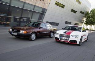 Audi 100 TDI i Audi RS5 TDI concept