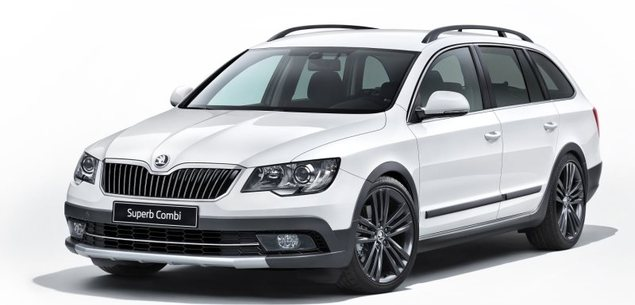 Skoda Superb Outdoor. Prawie terenowa