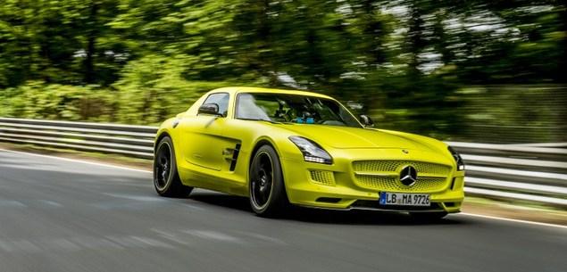SLS oficjalnie najszybszym samochodem. Elektrycznym!