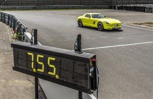 Mercedes-Benz SLS AMG Electric Drive na Nordschleife