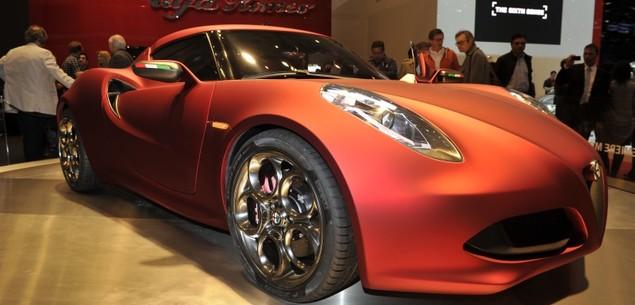 Sportowa Alfa z napędem na tył...