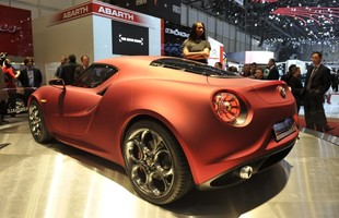Prototypowa Alfa Romeo 4C