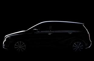 Mercedes opublikował właśnie pierwsze zdjęcie nowej klasy B