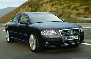 W Audi A8 szybko zużywają się klocki i tarcze hamulcowe