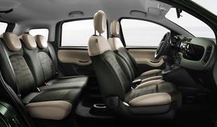 Wnętrze nowego Fiata Panda 4x4