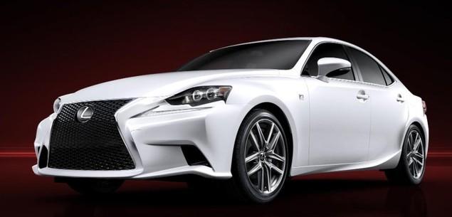 Taki jest nowy Lexus IS!
