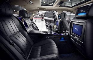 Wnętrze Jaguara XJ Ultimate