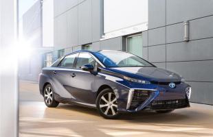 Toyota Mirai na zdjęciach