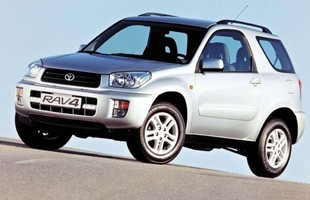 Toyota RAV4 wersja trzydrzwiowa