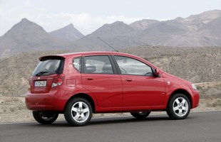 Chevrolet Aveo przed liftingiem