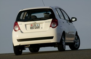 Chevrolet Aveo po liftingu
