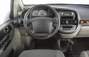 Wnętrze Chevroleta Rezzo