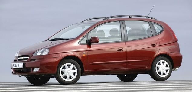 Używane: Daewoo Tacuma i Chevrolet Rezzo
