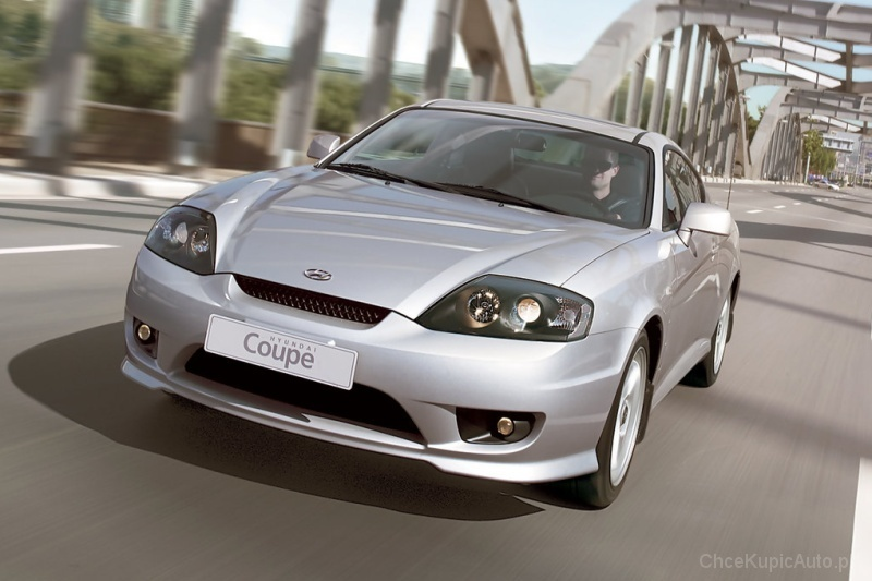 Używane: Hyundai Coupe GK