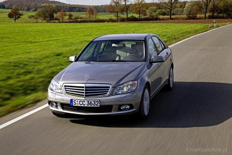 Używane: Mercedes C W204
