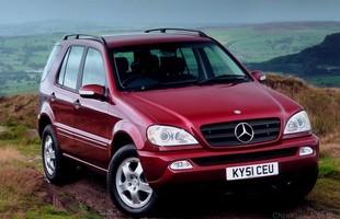 Używane: Mercedes klasy M (W163)