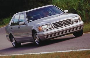 Używane: Mercedes S W140