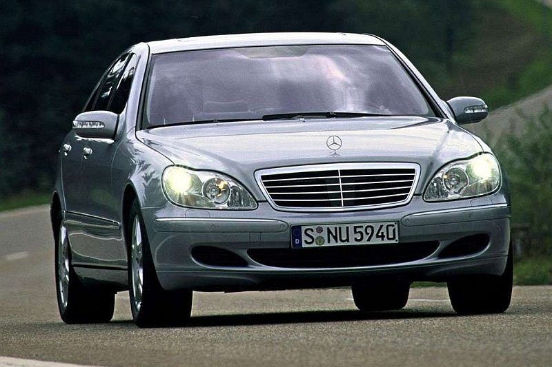 Używane: Mercedes S W220