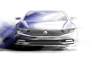 Volkswagen Passat VIII: Pierwsze szkice!
