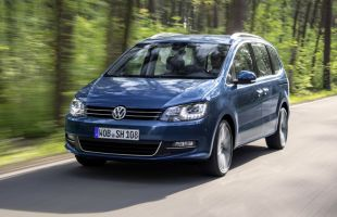 Volkswagen Sharan po liftingu. Ceny