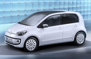 Volkswagen Up! z dodatkową parą drzwi