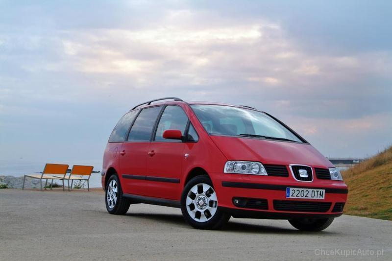 VW Sharan. Duży i wygodny, ale...