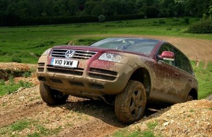 VW Touareg może zaimponować zdolnościami terenowymi