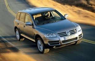 VW Touareg - drogo, ale prestiżowo