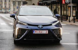 Toyota Mirai w Warszawie