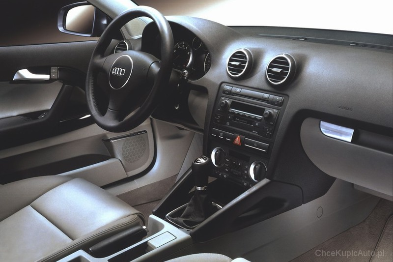audi a3 ii 1 9 tdi 105 km 2006 hatchback 3dr skrzynia. Black Bedroom Furniture Sets. Home Design Ideas