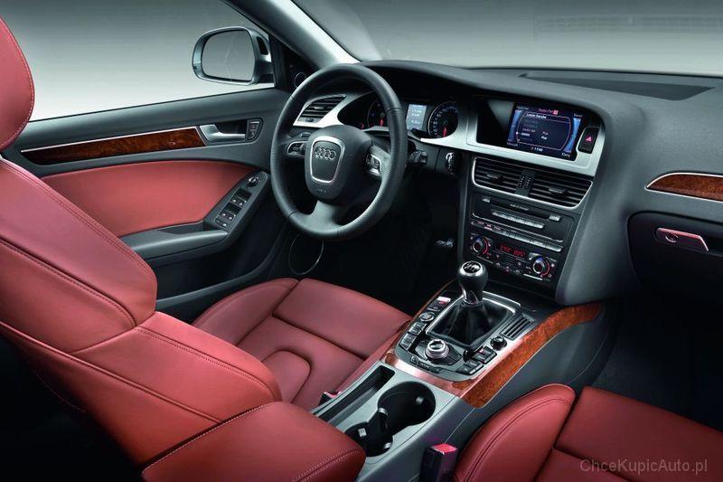 Audi A4 B8 20 Tdi 143 Km 2009 Avant Skrzynia Ręczna Napęd 4x4