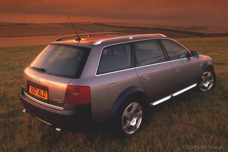 Audi A6 C5 Allroad 2 7 T 250 Km 2003 Avant Skrzynia Automatyczna Zautomatyzowana Napęd 4x4