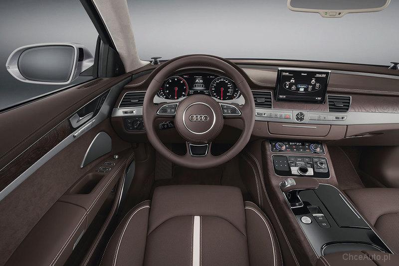 Audi A8 D4 Fl 63 Fsi W12 500 Km 2017 Sedan Skrzynia Automatyczna
