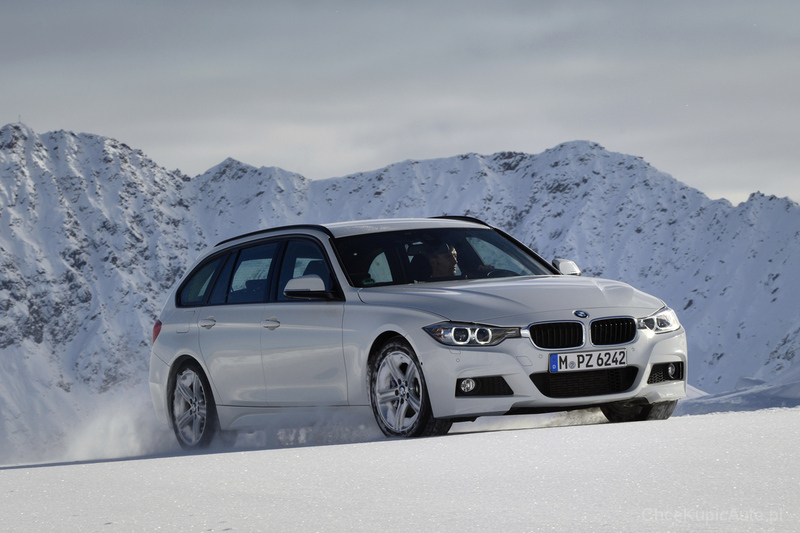 BMW 330d F31 258 KM