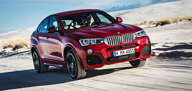 BMW X4 F26 20i 184 KM