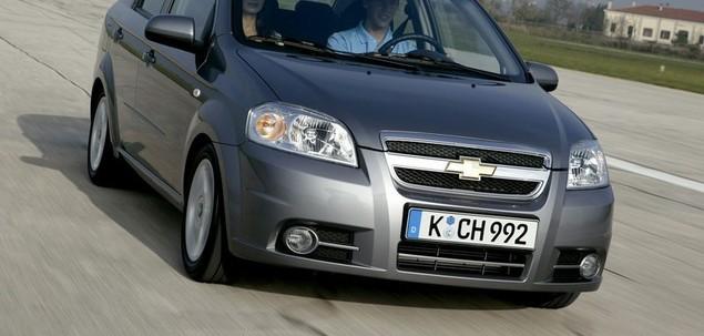 Chevrolet Aveo I Fl 1 2 72 Km 2008 Sedan Skrzynia Reczna Naped Przedni