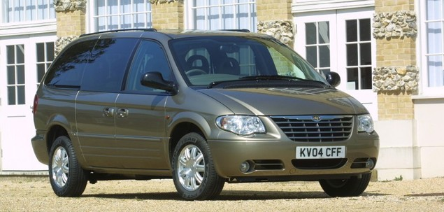 chrysler grand voyager iv fl 2 5 crd 143 km 2005 van. Black Bedroom Furniture Sets. Home Design Ideas