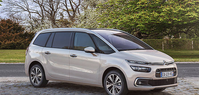 citroen c4 grand picasso ii fl 2 0 hdi 150 km 2016 van. Black Bedroom Furniture Sets. Home Design Ideas