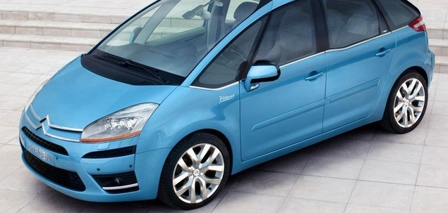 citroen c4 picasso i 1 6 hdi 110 km 2007 van skrzynia r czna nap d przedni. Black Bedroom Furniture Sets. Home Design Ideas